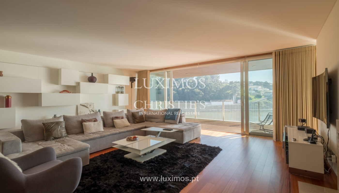 Luxury apartment in the first line of Douro River, in Porto, Portugal_134916