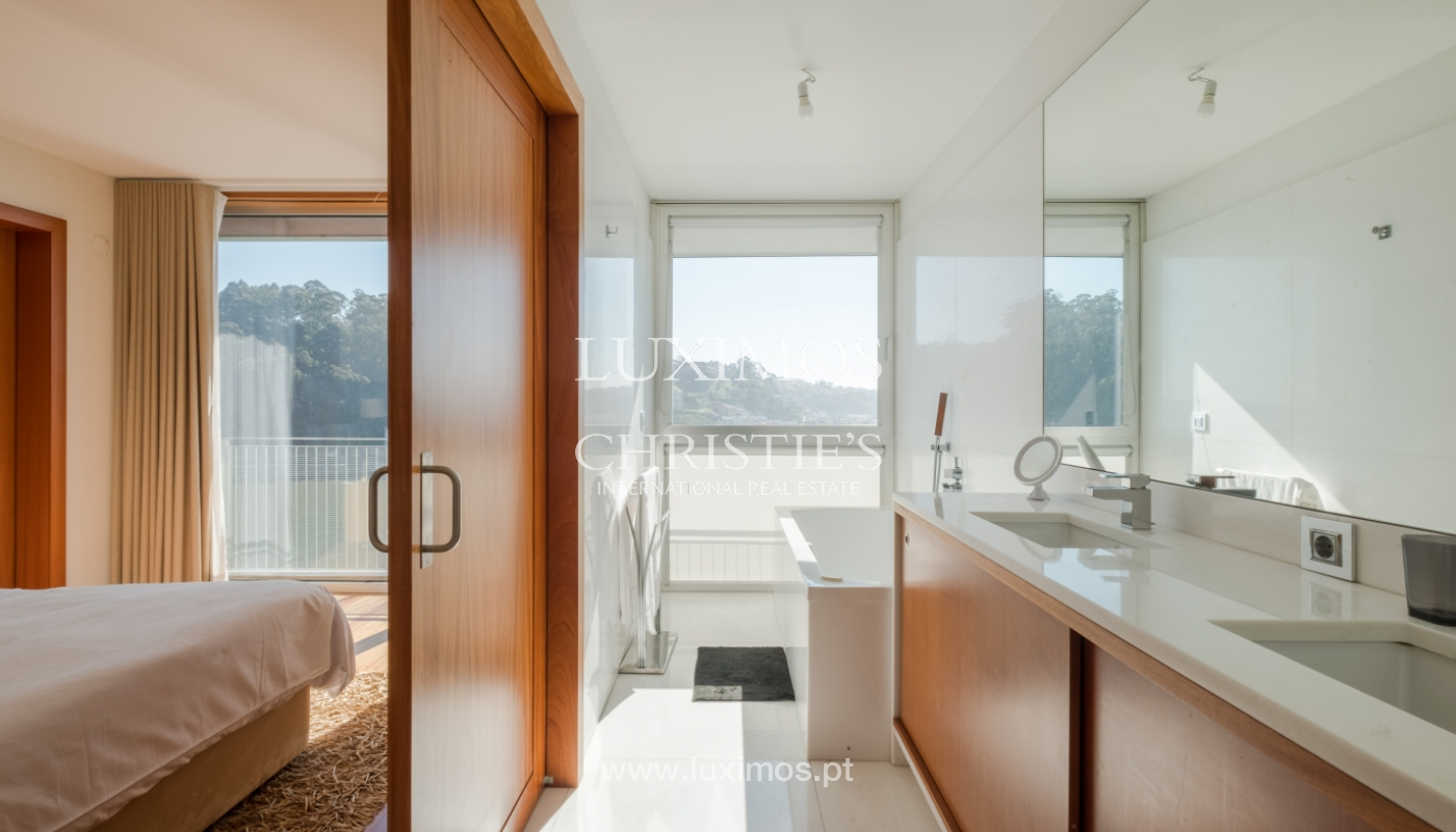 Luxury apartment in the first line of Douro River, in Porto, Portugal_134929