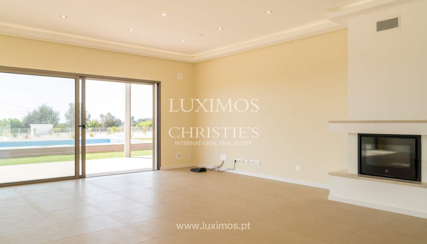 Villa neuve avec piscine à vendre à Odiáxere, Lagos, Algarve, Portugal_135190
