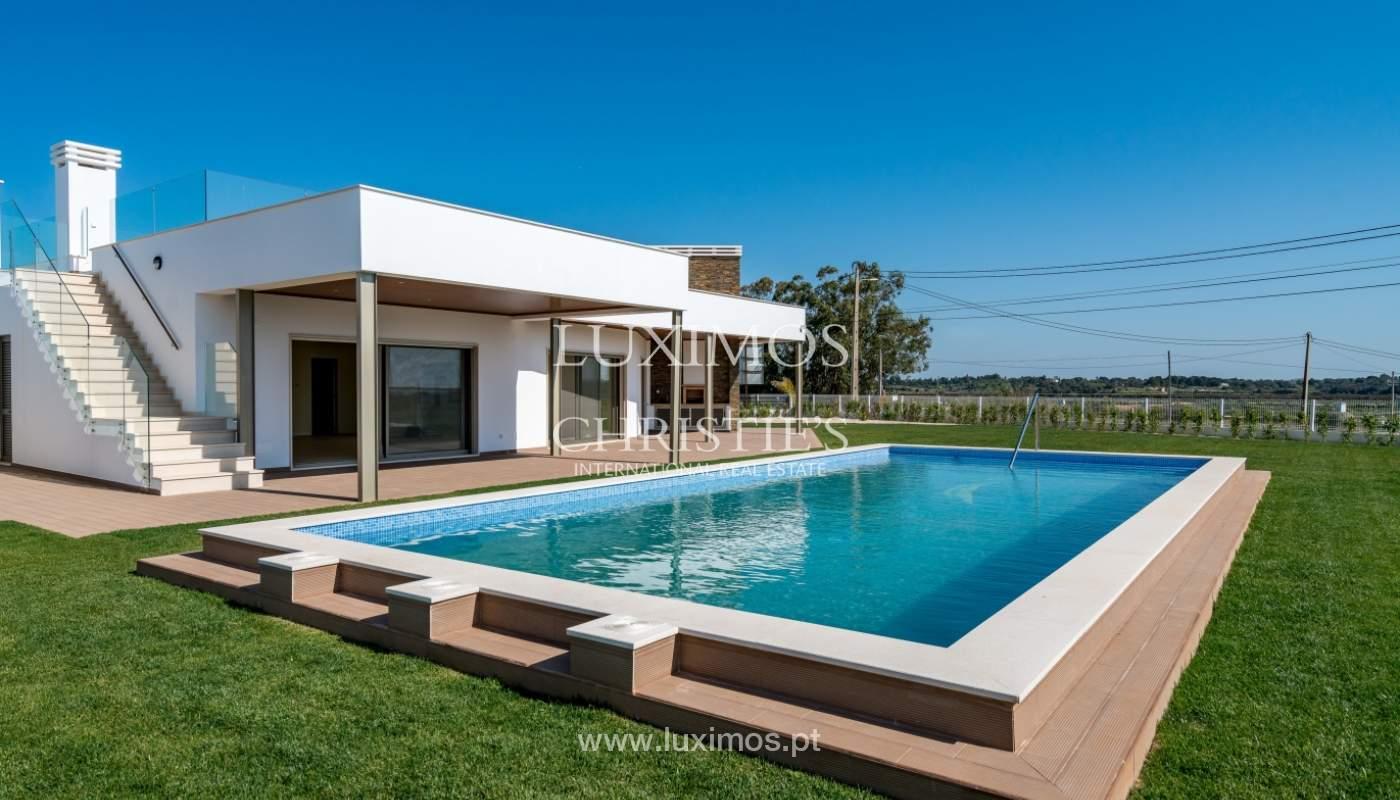 Neue Villa mit Pool zu verkaufen in Odiáxere, Lagos, Algarve, Portugal_135228