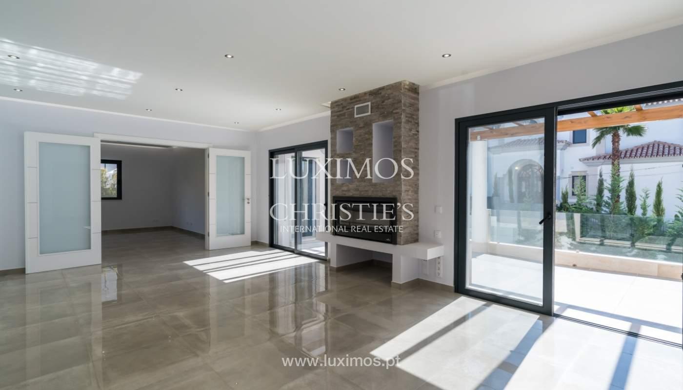 Venda de moradia nova de luxo, com piscina no Ancão, Almancil, Algarve_135239