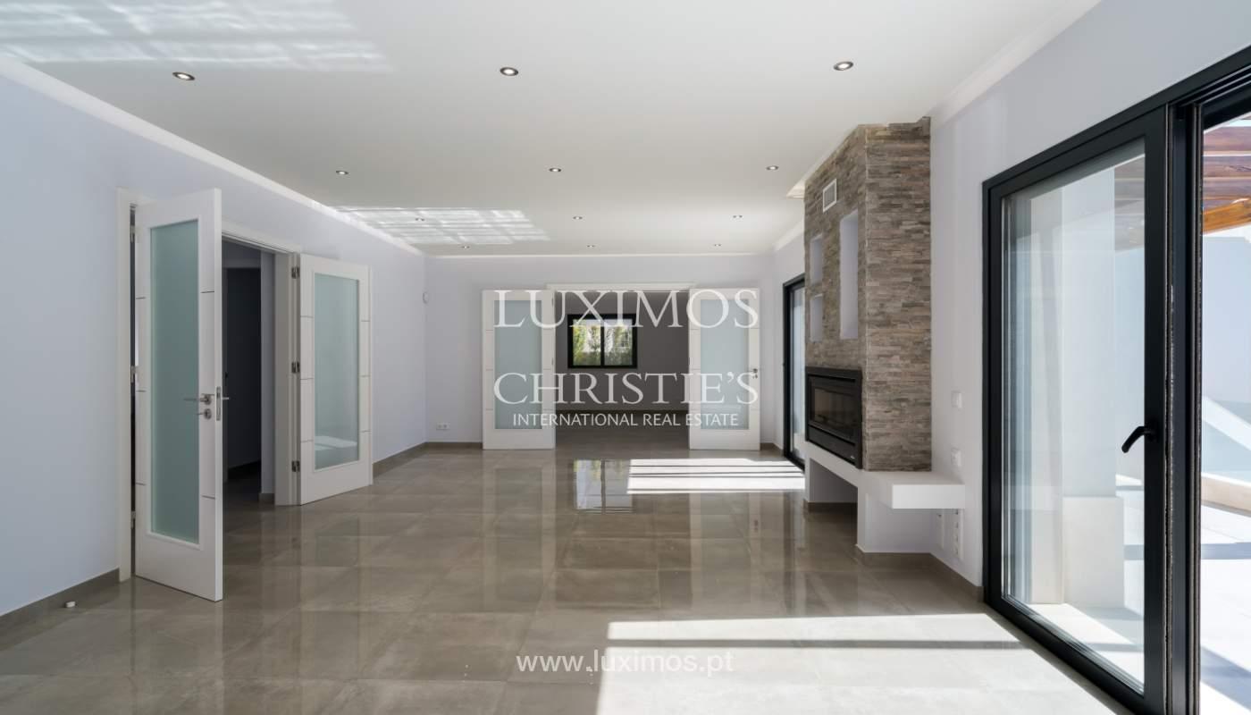 Sale of new luxury villa,with pool, Ancão, Almancil, Algarve, Portugal_135240