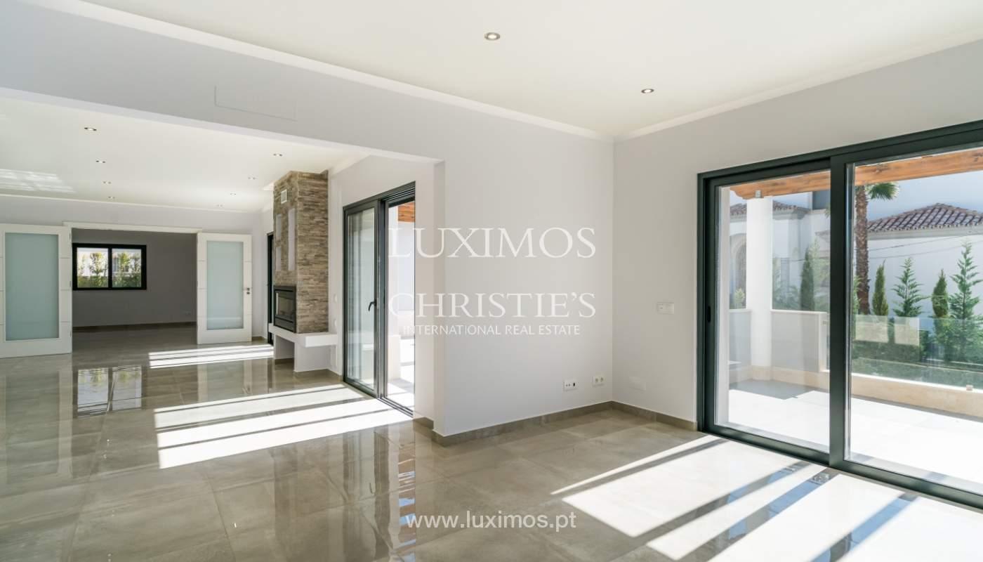 Venda de moradia nova de luxo, com piscina no Ancão, Almancil, Algarve_135245