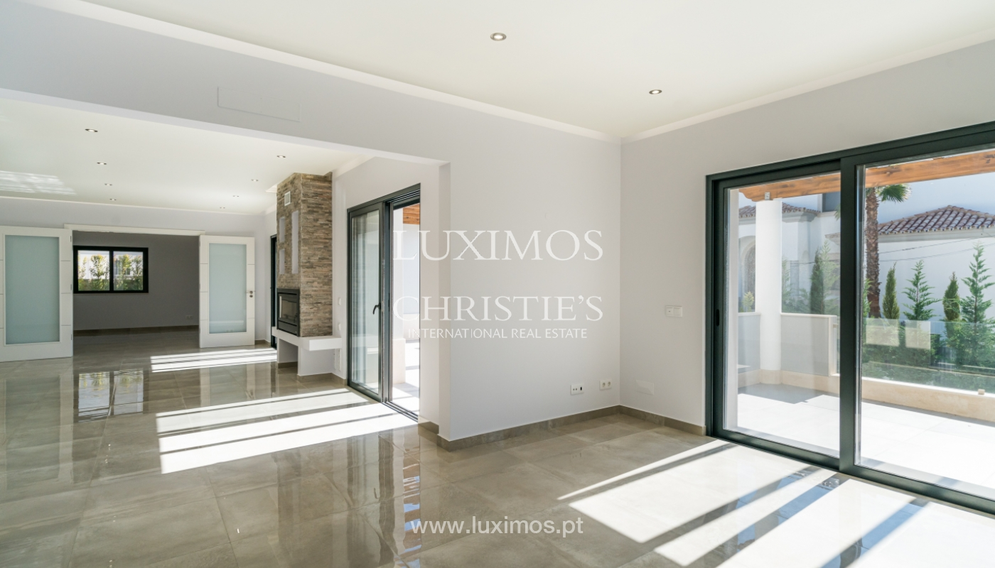 Sale of new luxury villa,with pool, Ancão, Almancil, Algarve, Portugal_135245