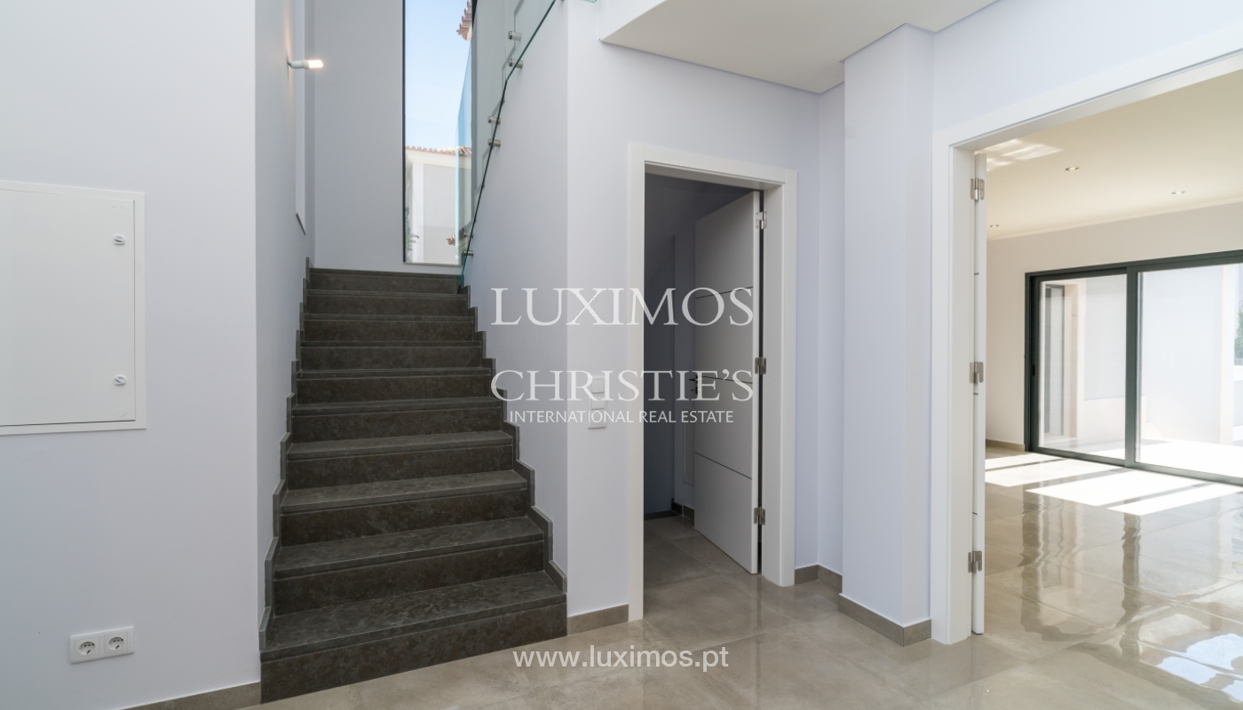 Sale of new luxury villa,with pool, Ancão, Almancil, Algarve, Portugal_135252
