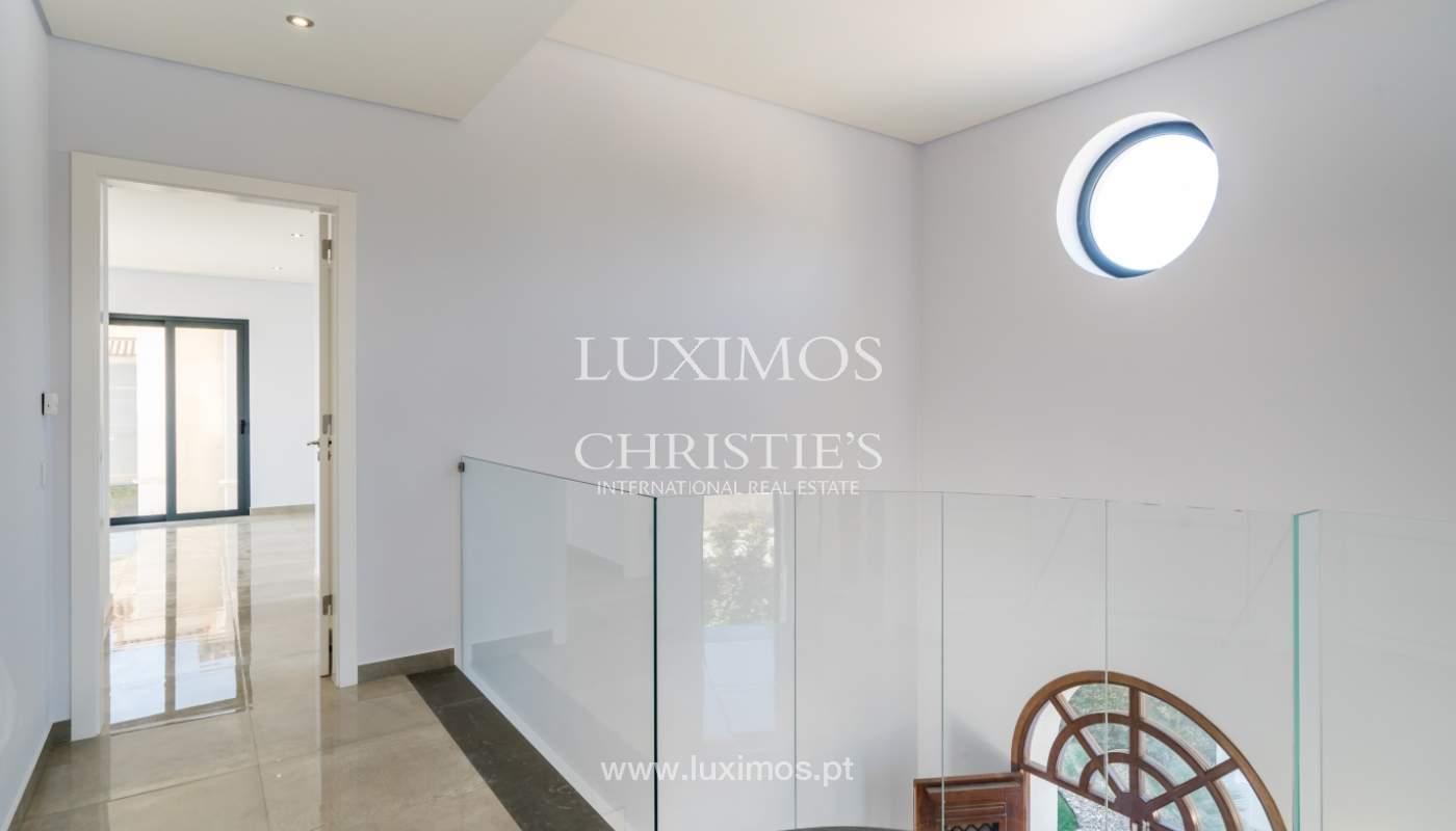 Venda de moradia nova de luxo, com piscina no Ancão, Almancil, Algarve_135262