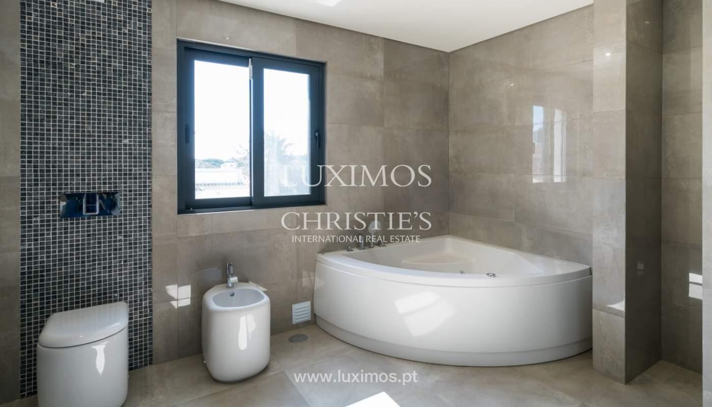 Venda de moradia nova de luxo, com piscina no Ancão, Almancil, Algarve_135267