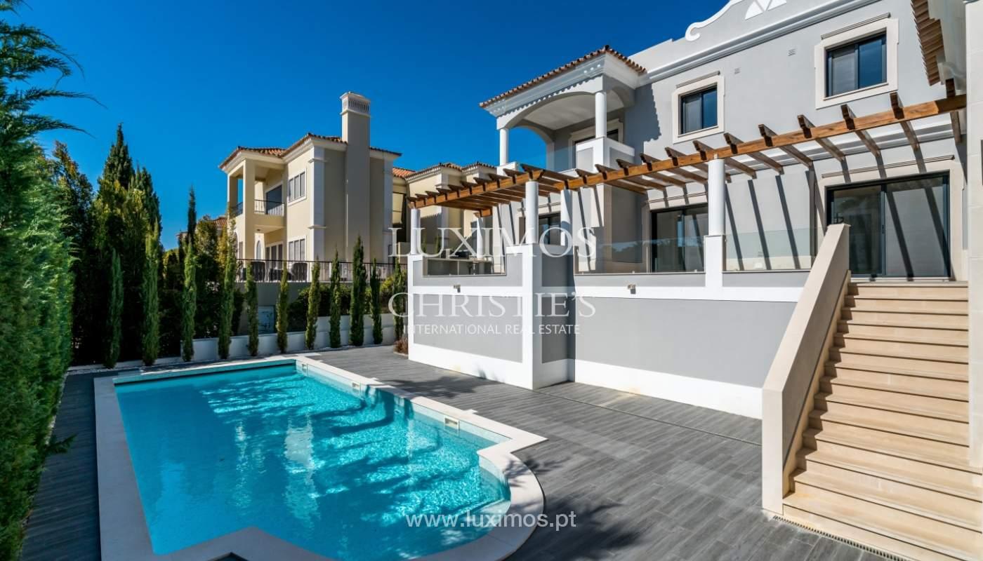 Venda de moradia nova de luxo, com piscina no Ancão, Almancil, Algarve_135292