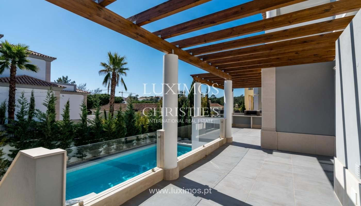 Venda de moradia nova de luxo, com piscina no Ancão, Almancil, Algarve_135294