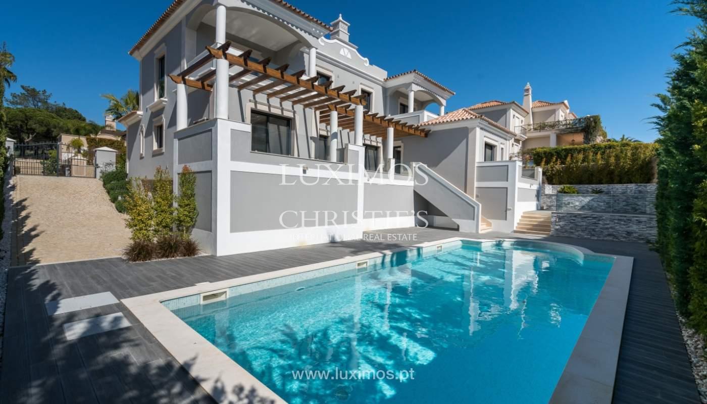 Venda de moradia nova de luxo, com piscina no Ancão, Almancil, Algarve_135298