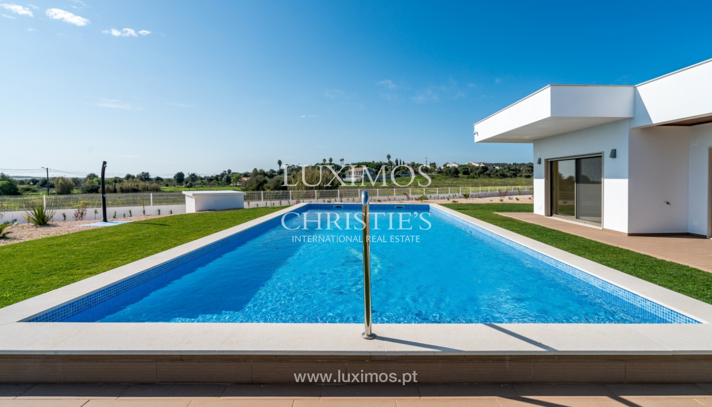 New villa for sale with pool in Odiáxere, Lagos, Algarve, Portugal_135340