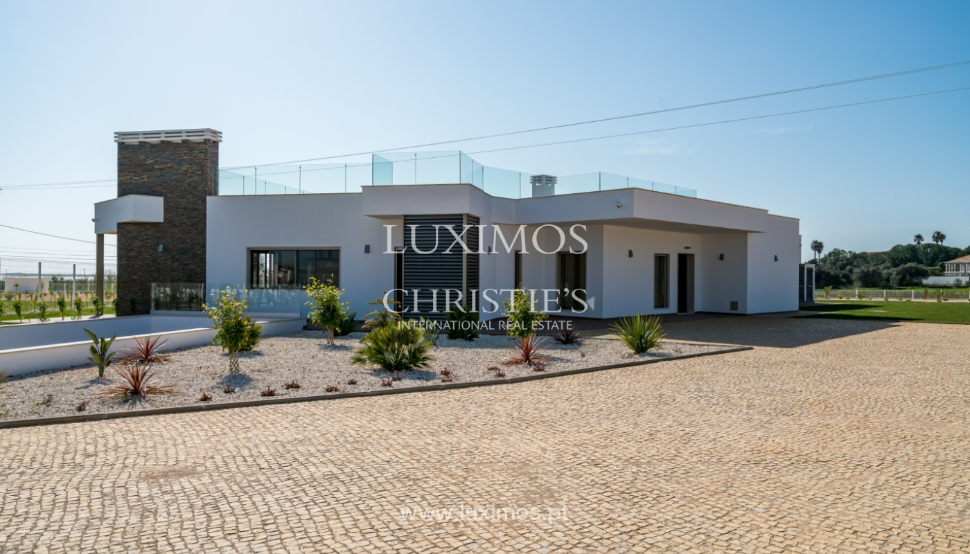 New villa for sale with pool in Odiáxere, Lagos, Algarve, Portugal_135355