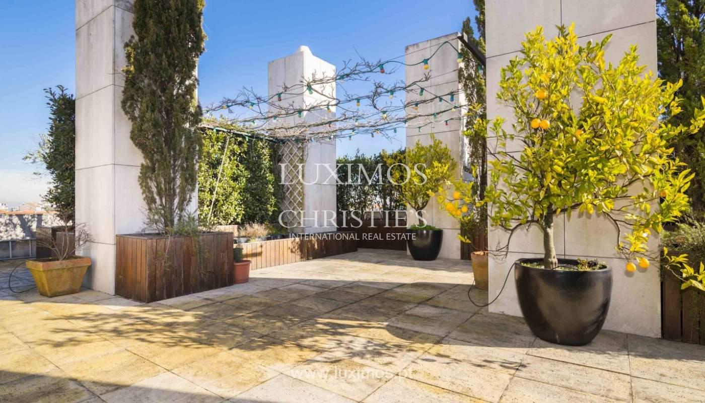 Penthouse à vendre avec terrasse et vue sur la ville de Porto,Portugal_135358