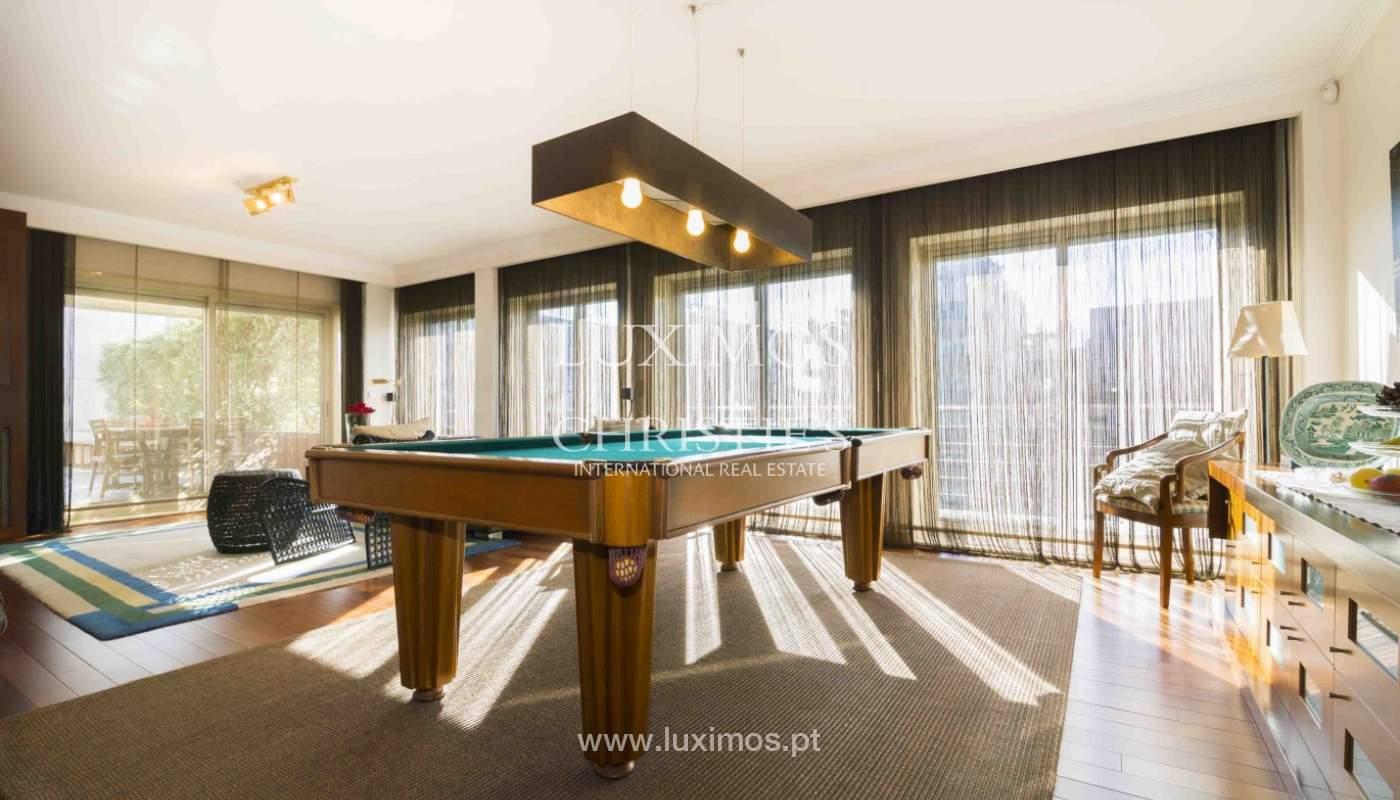 Penthouse à vendre avec terrasse et vue sur la ville de Porto,Portugal_135360