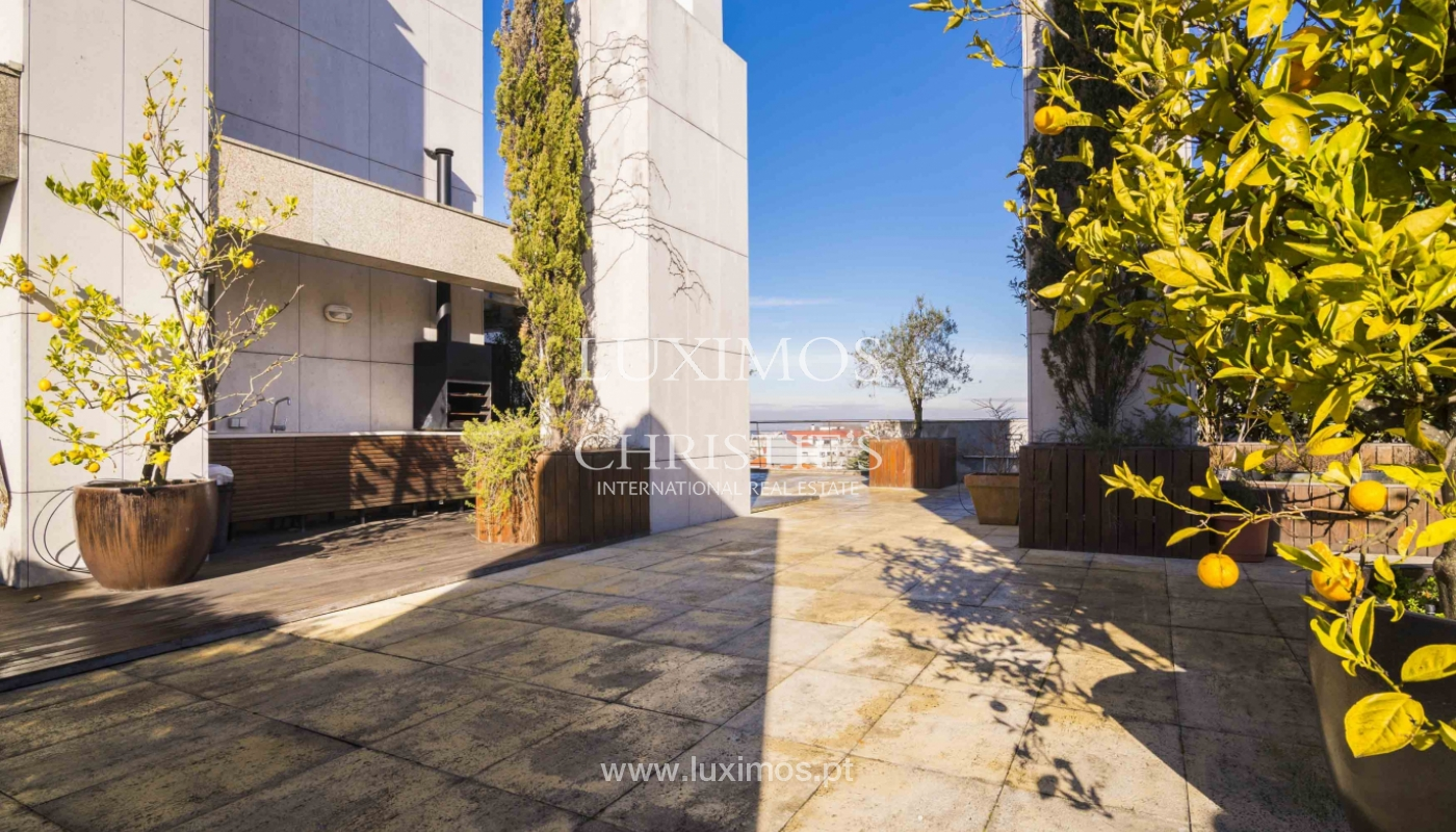 Penthouse à vendre avec terrasse et vue sur la ville de Porto,Portugal_135378