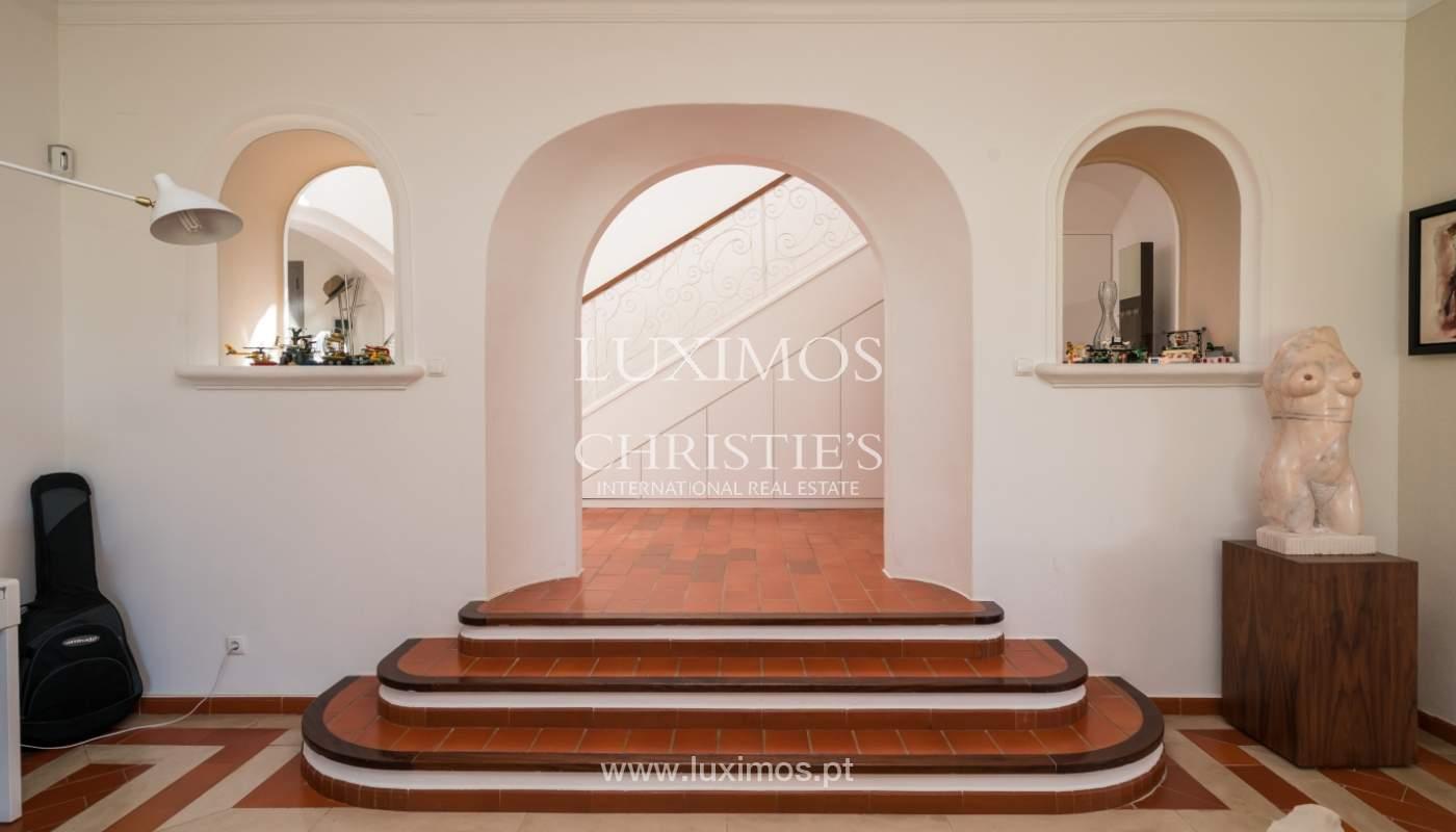 Villa avec piscine, front golf à vendre à Vilamoura, Algarve, Portugal_135540