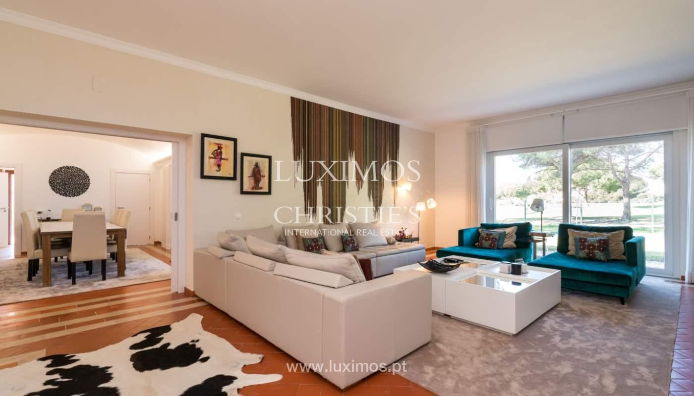 Villa avec piscine, front golf à vendre à Vilamoura, Algarve, Portugal_135542