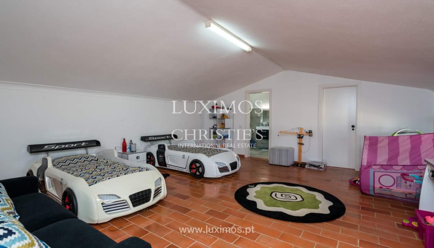 Villa avec piscine, front golf à vendre à Vilamoura, Algarve, Portugal_135587