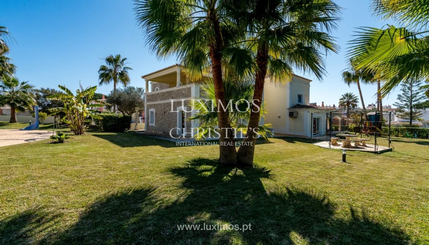 Villa avec piscine, front golf à vendre à Vilamoura, Algarve, Portugal_135600