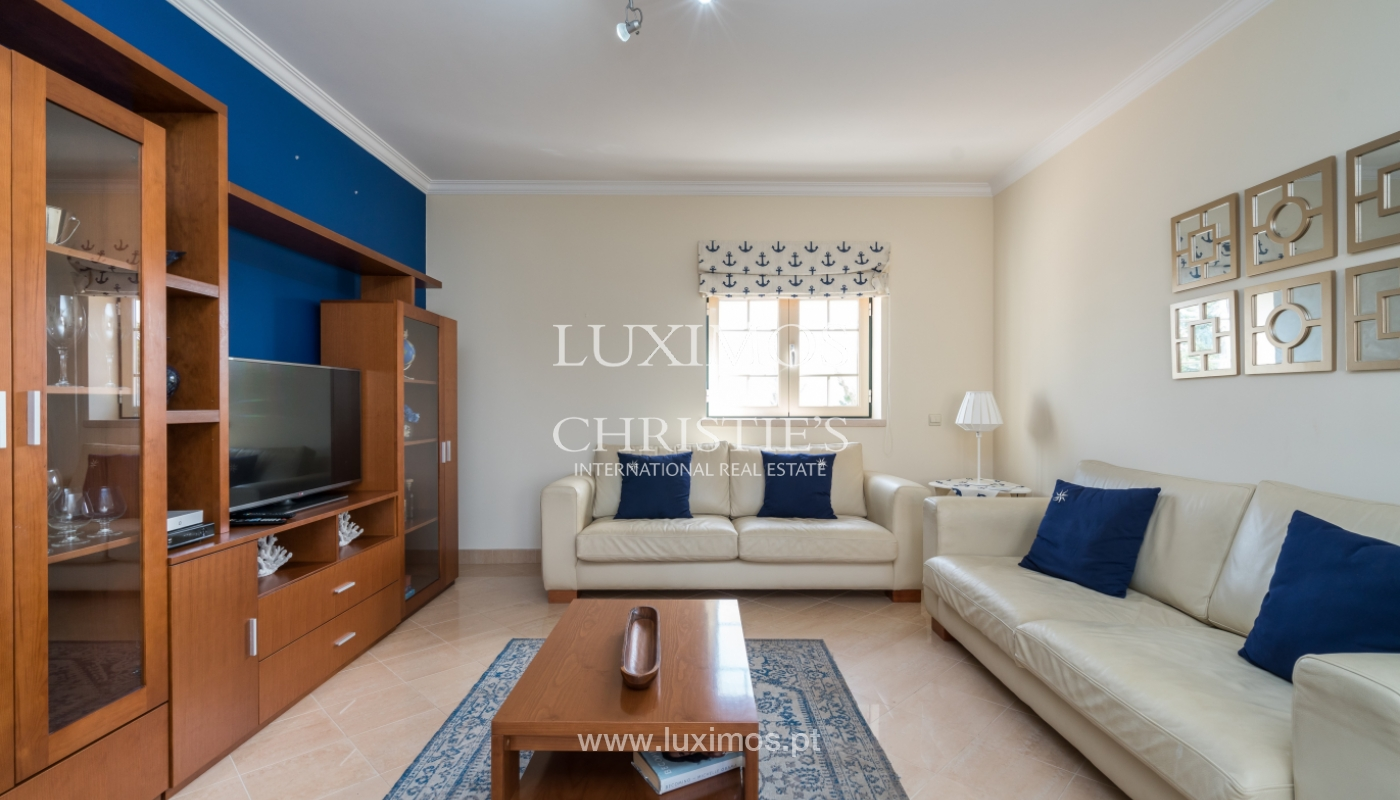 Sale of apartment with terrace and pool Albufeira, Algarve, Portugal_135646