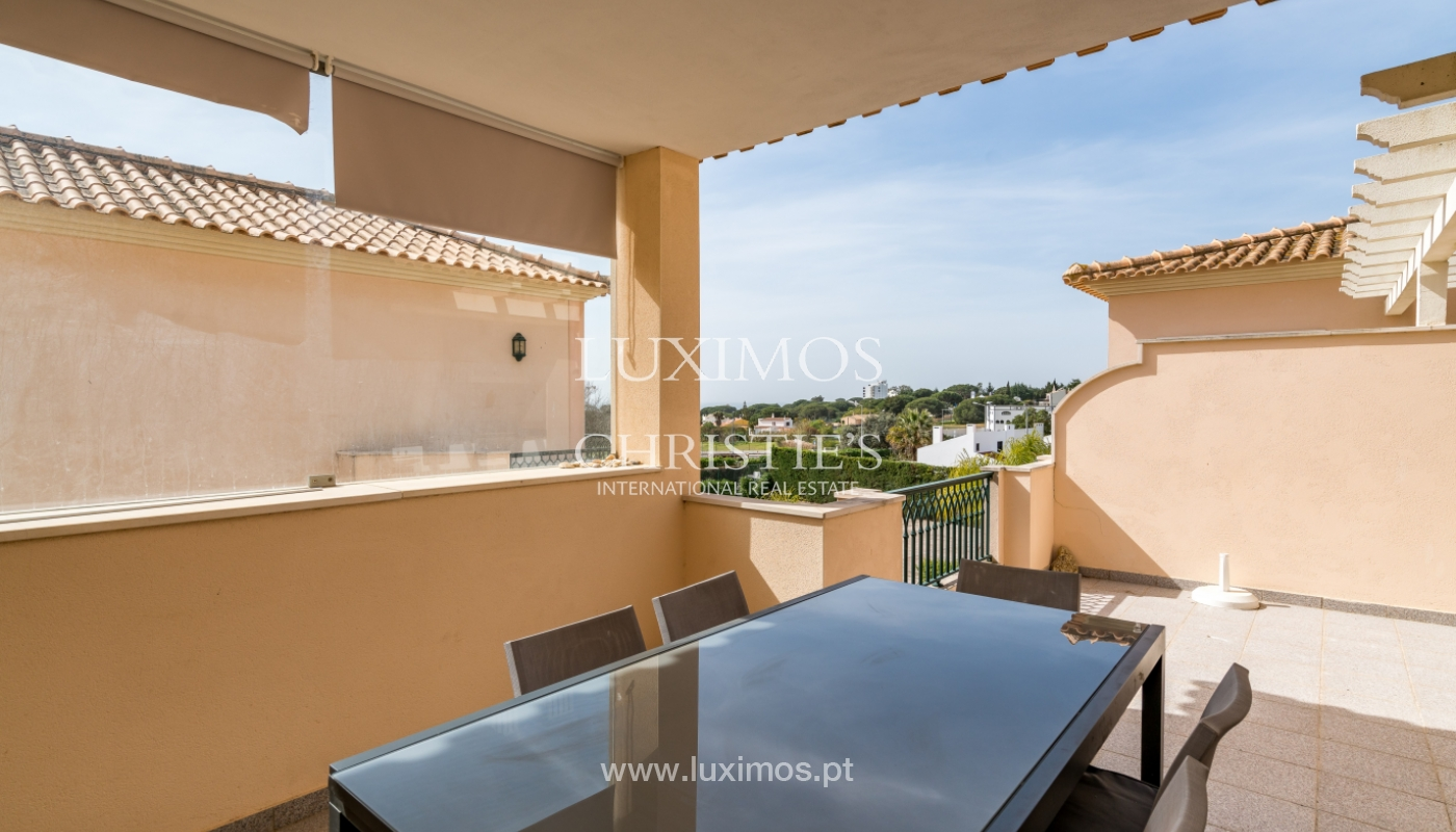 Sale of apartment with terrace and pool Albufeira, Algarve, Portugal_135667