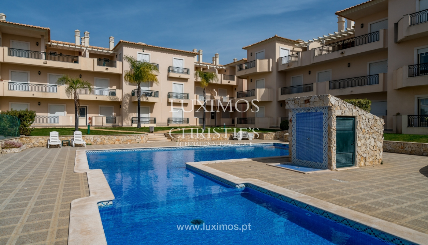 Sale of apartment with terrace and pool Albufeira, Algarve, Portugal_135678
