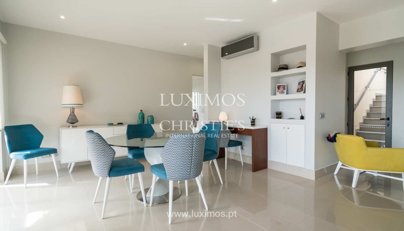 Sale of penthouse with sea view in Vilamoura, Algarve, Portugal_135698