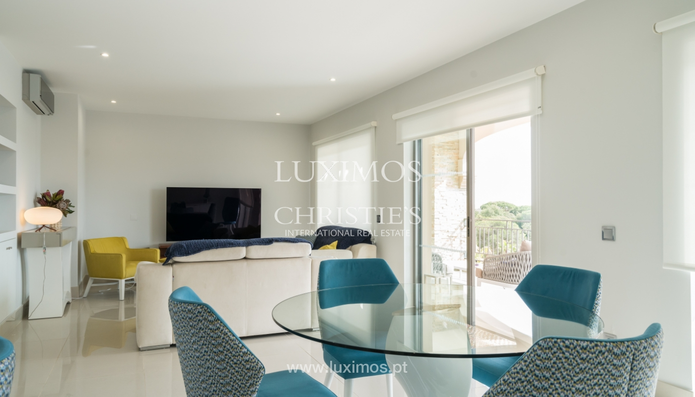 Sale of penthouse with sea view in Vilamoura, Algarve, Portugal_135700