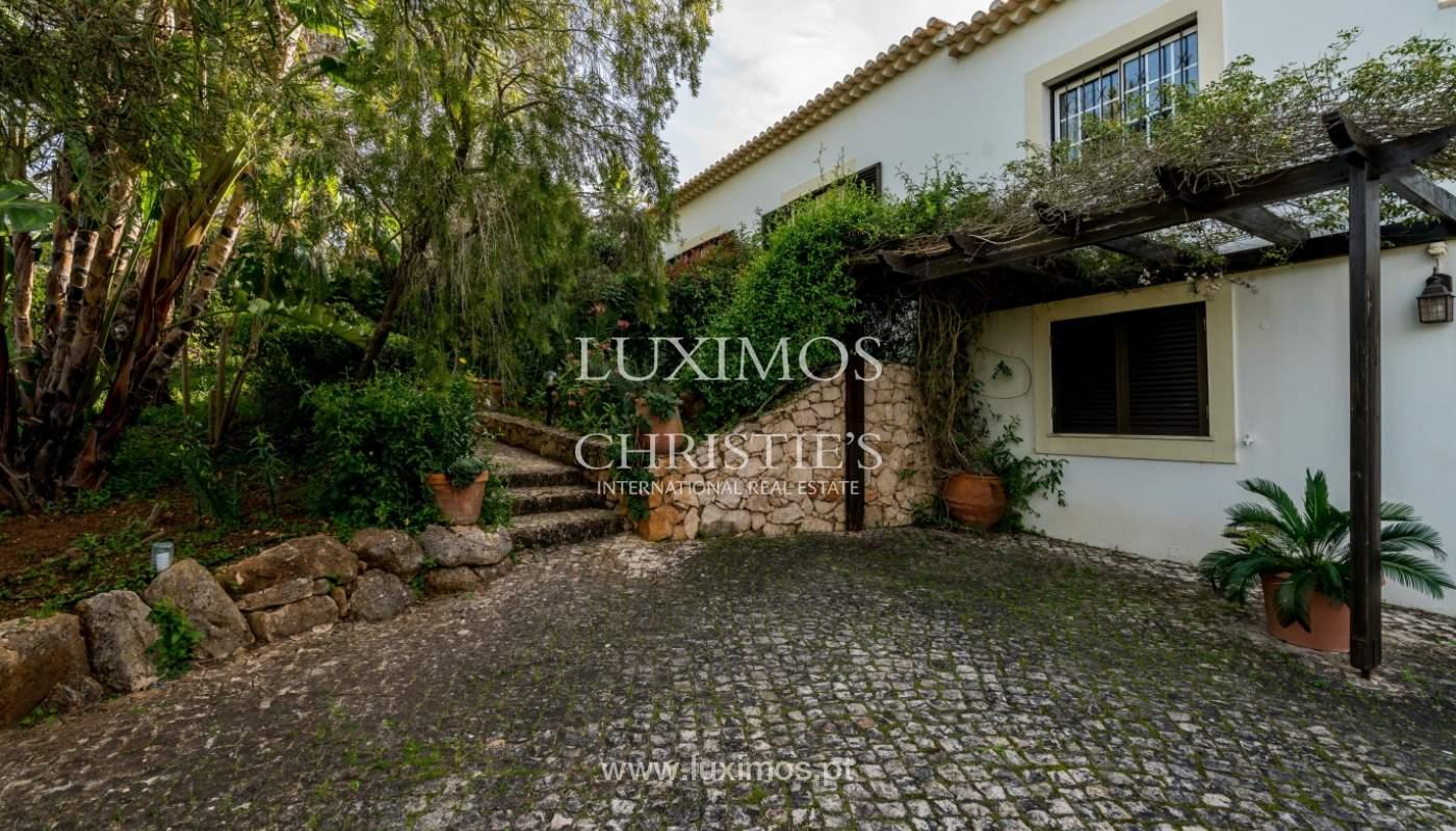 Sale of villa with pool and garden near Alvor, Algarve, Portugal_135748