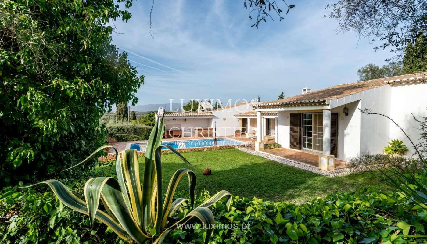 Sale of villa with pool and garden near Alvor, Algarve, Portugal_135758
