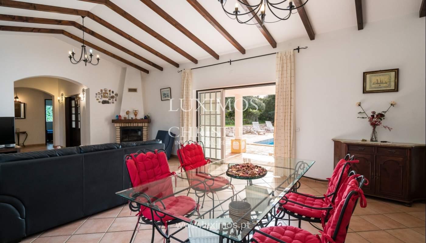 Sale of villa with pool and garden near Alvor, Algarve, Portugal_135765