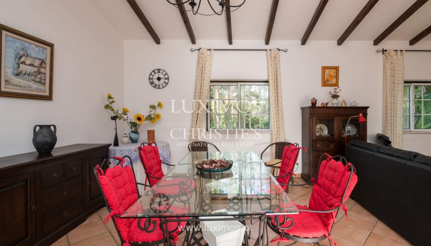 Sale of villa with pool and garden near Alvor, Algarve, Portugal_135769