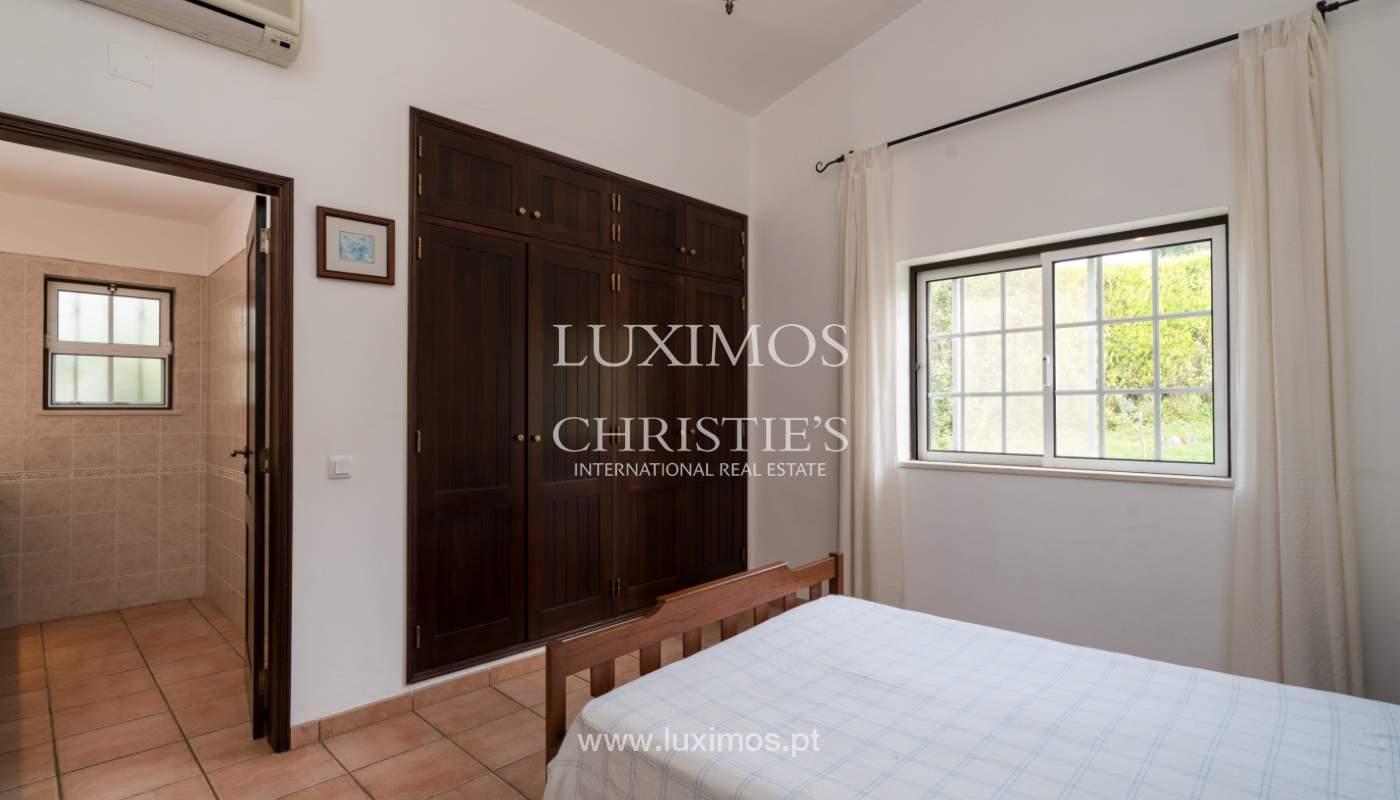 Sale of villa with pool and garden near Alvor, Algarve, Portugal_135781