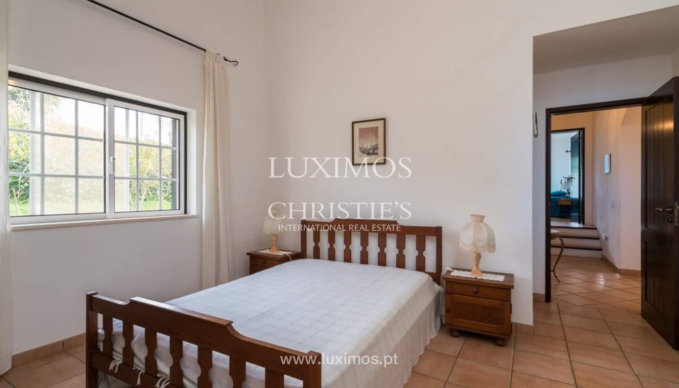 Sale of villa with pool and garden near Alvor, Algarve, Portugal_135782