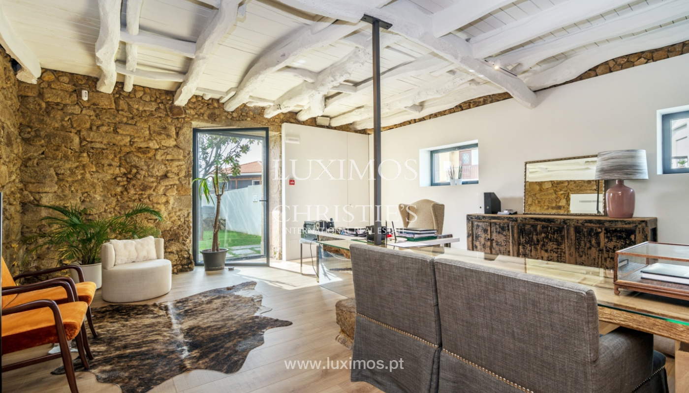 Casa contemporánea con jardín, en venta, Vila Nova de Gaia, Portugal_135796