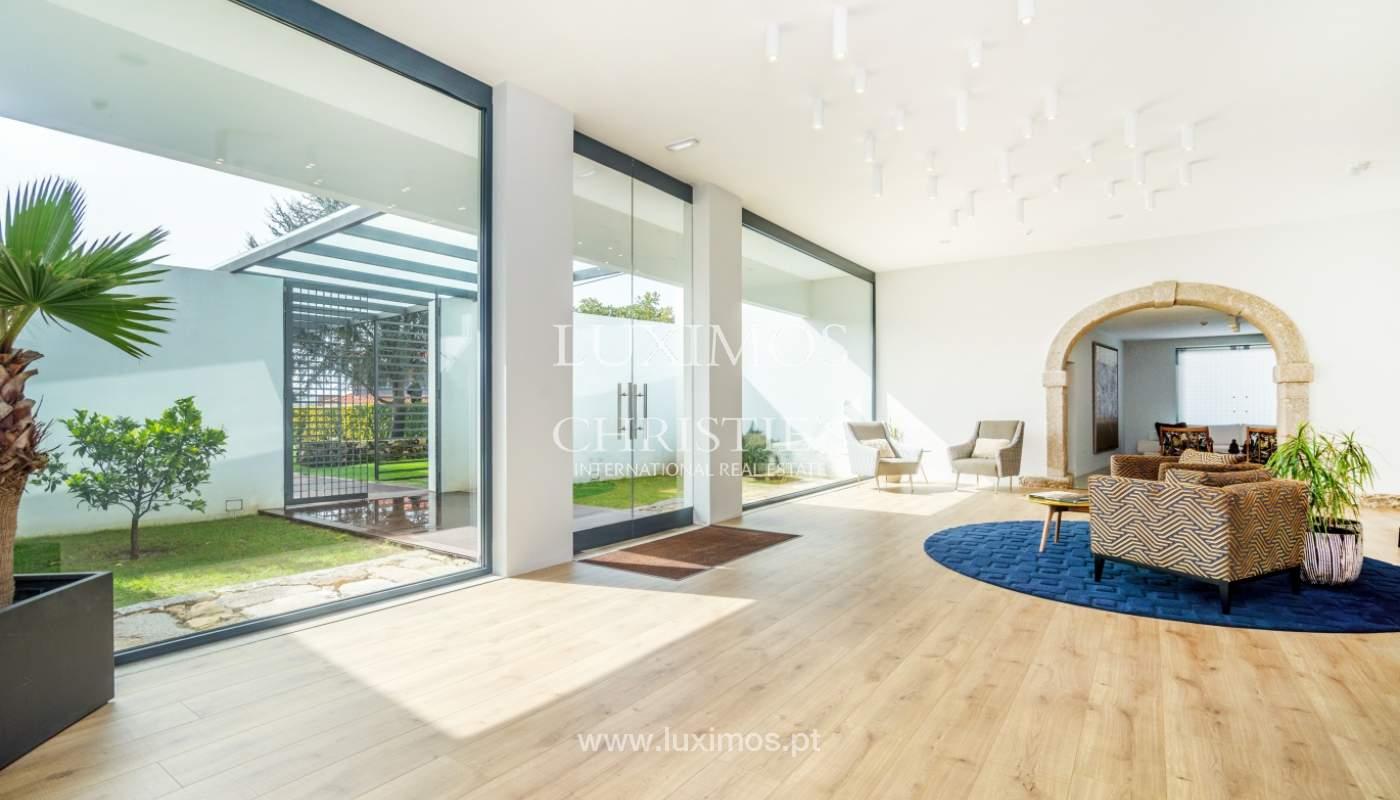 Casa contemporánea con jardín, en venta, Vila Nova de Gaia, Portugal_135803