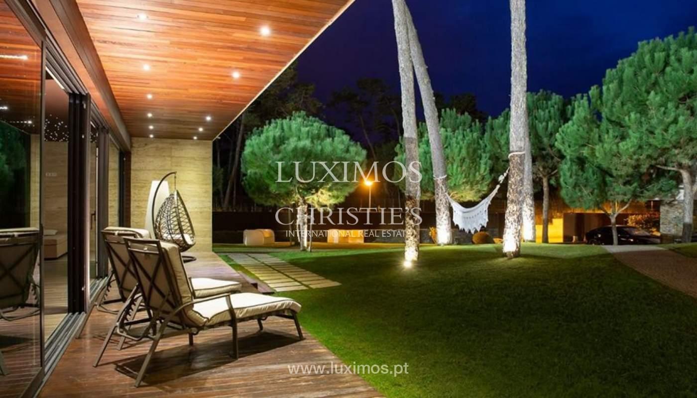 Zeitgenössisches Haus, zu verkaufen, mit Pool und Garten, Esposende, Portugal_135835