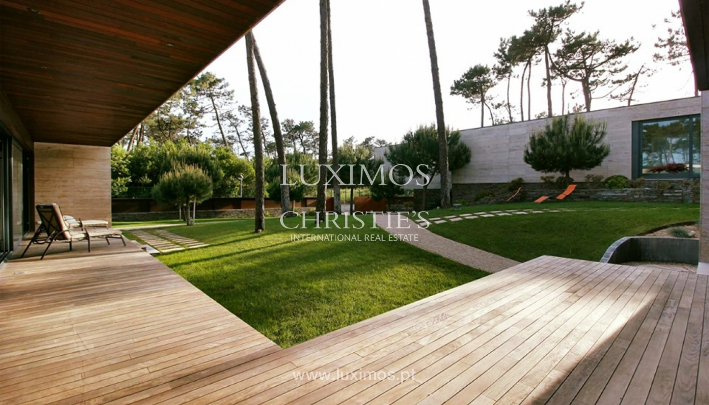 Contemporary house, for sale, with pool and garden, Esposende, Portugal_135841
