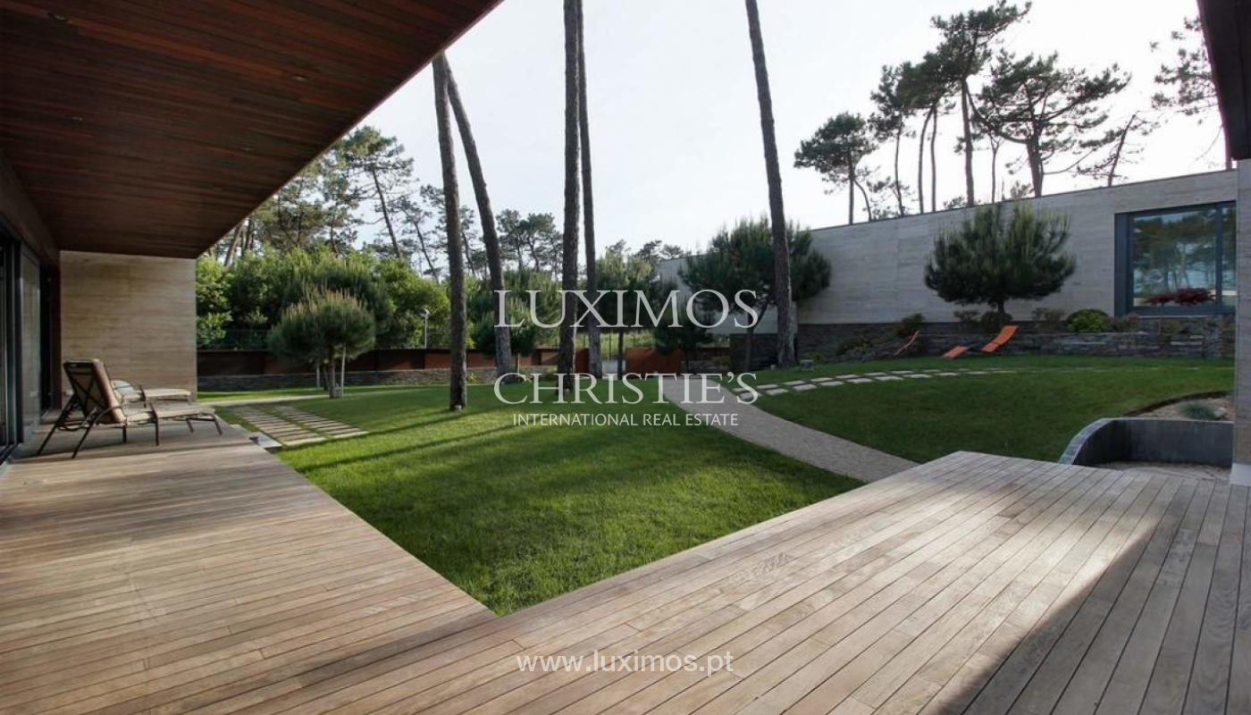 Contemporary house, for sale, with pool and garden, Esposende, Portugal_135848