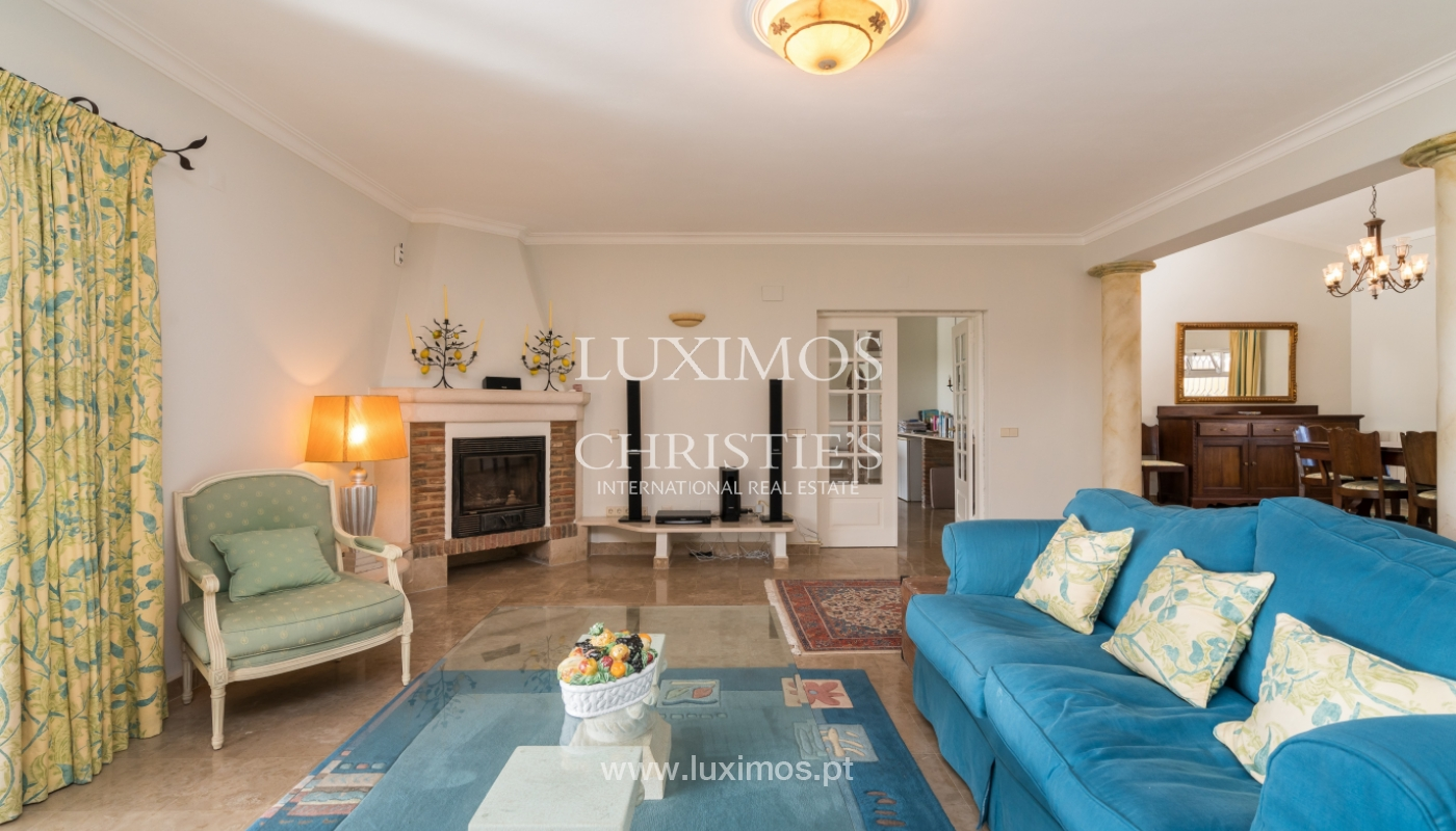 Sale of villa with pool and garden in Loulé, Algarve, Portugal_136015