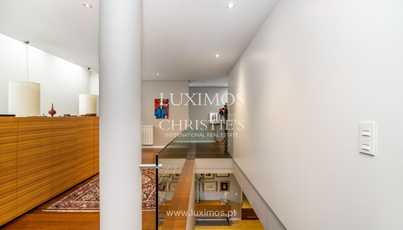 Modern house for sale, near the city park, in Porto, Portugal_136614