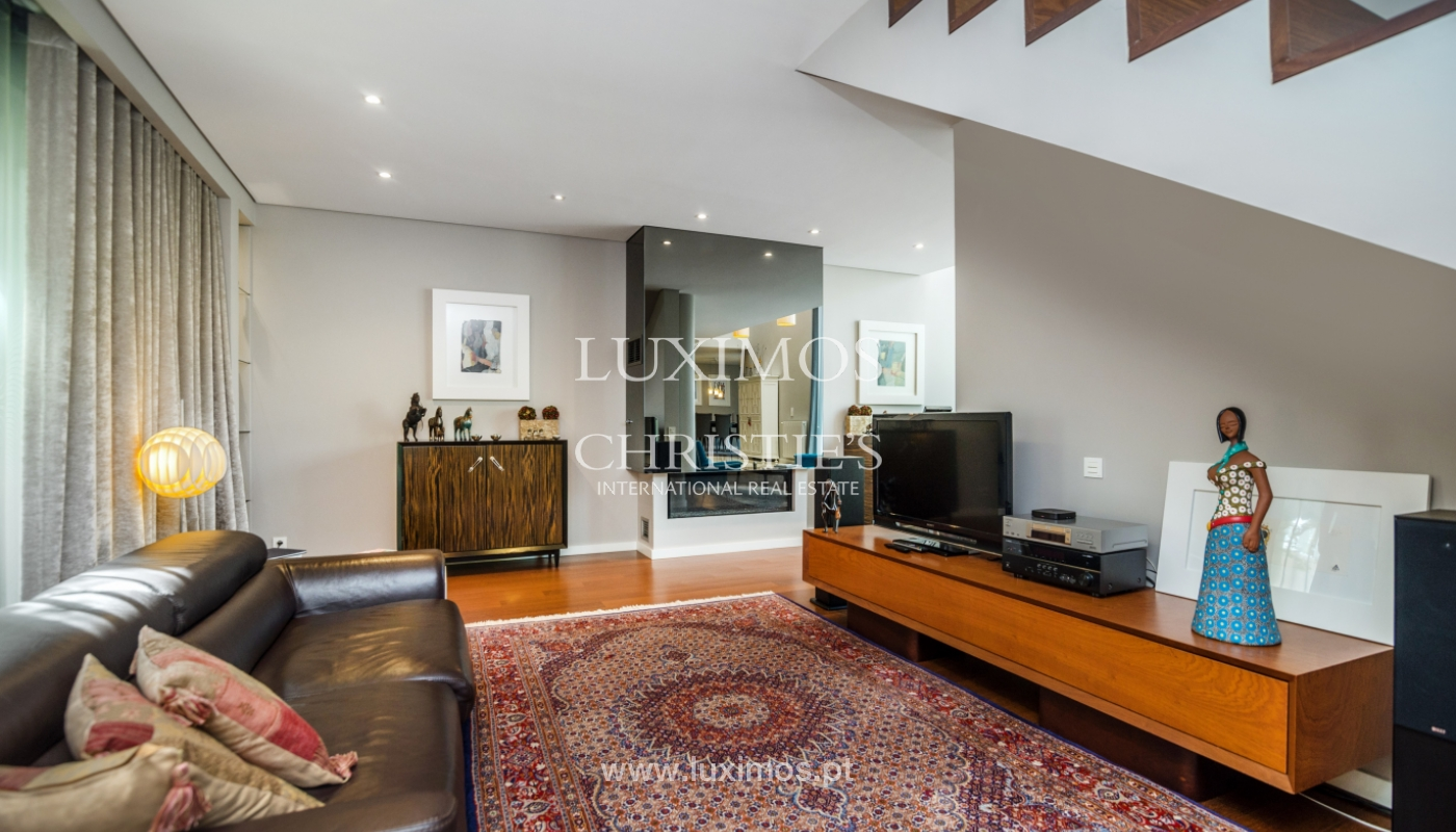 Modern house for sale, near the city park, in Porto, Portugal_136629