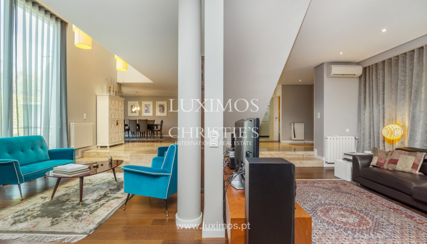 Modern house for sale, near the city park, in Porto, Portugal_136632