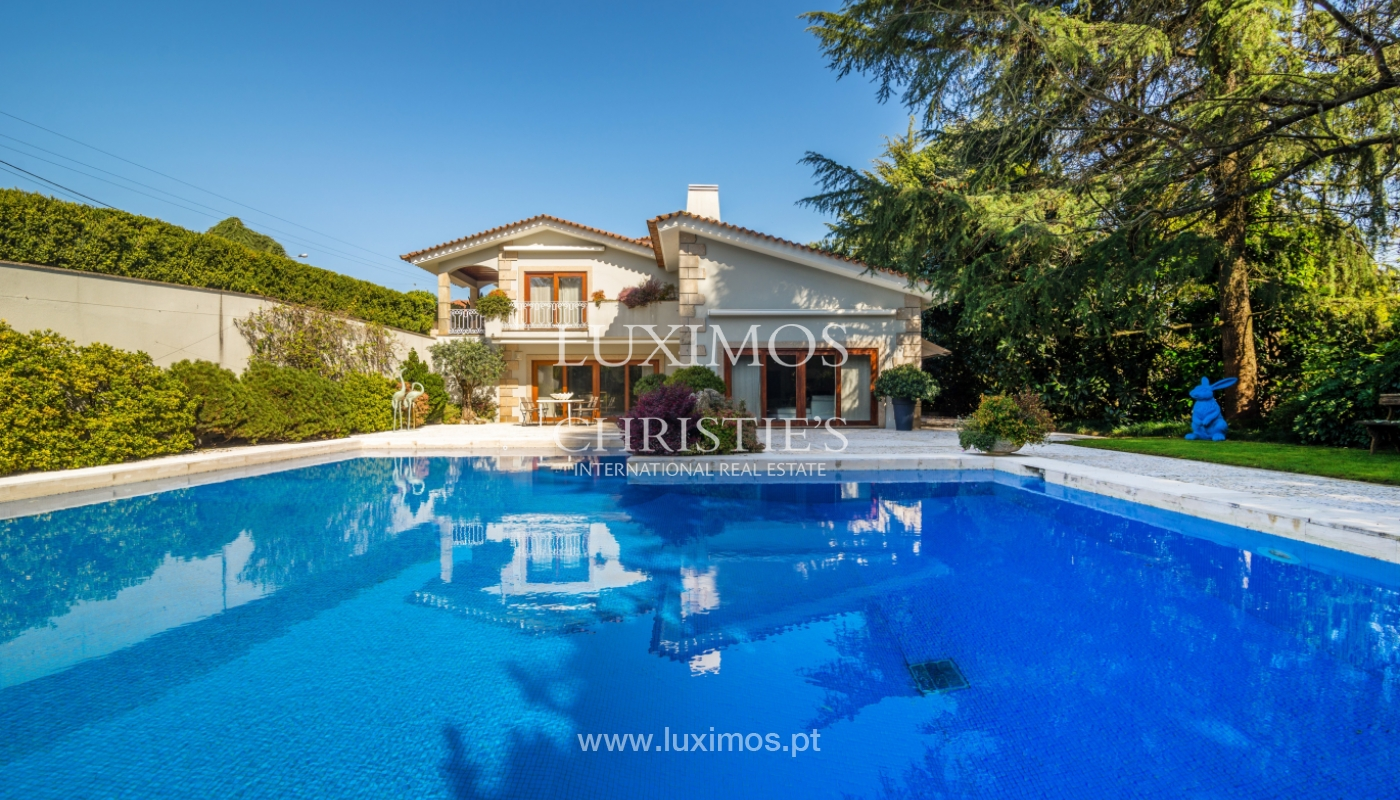 House with garden and pool, for sale, in Vila Nova de Famalicão, Portugal_136639
