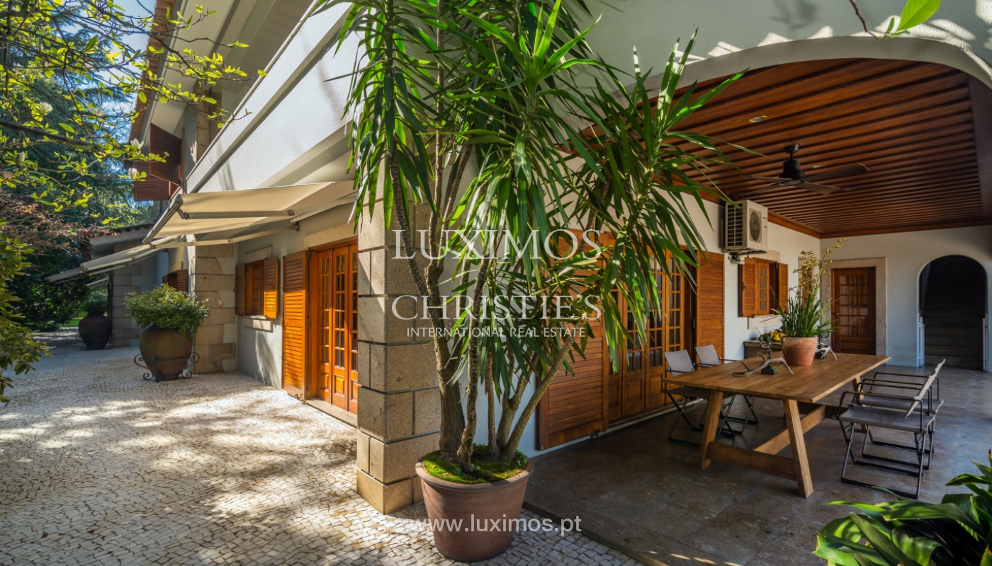 House with garden and pool, for sale, in Vila Nova de Famalicão, Portugal_136640