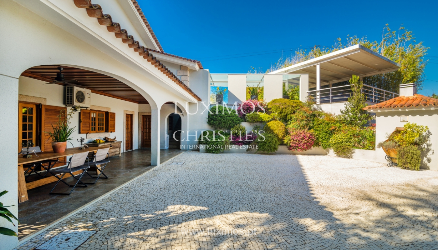 House with garden and pool, for sale, in Vila Nova de Famalicão, Portugal_136642