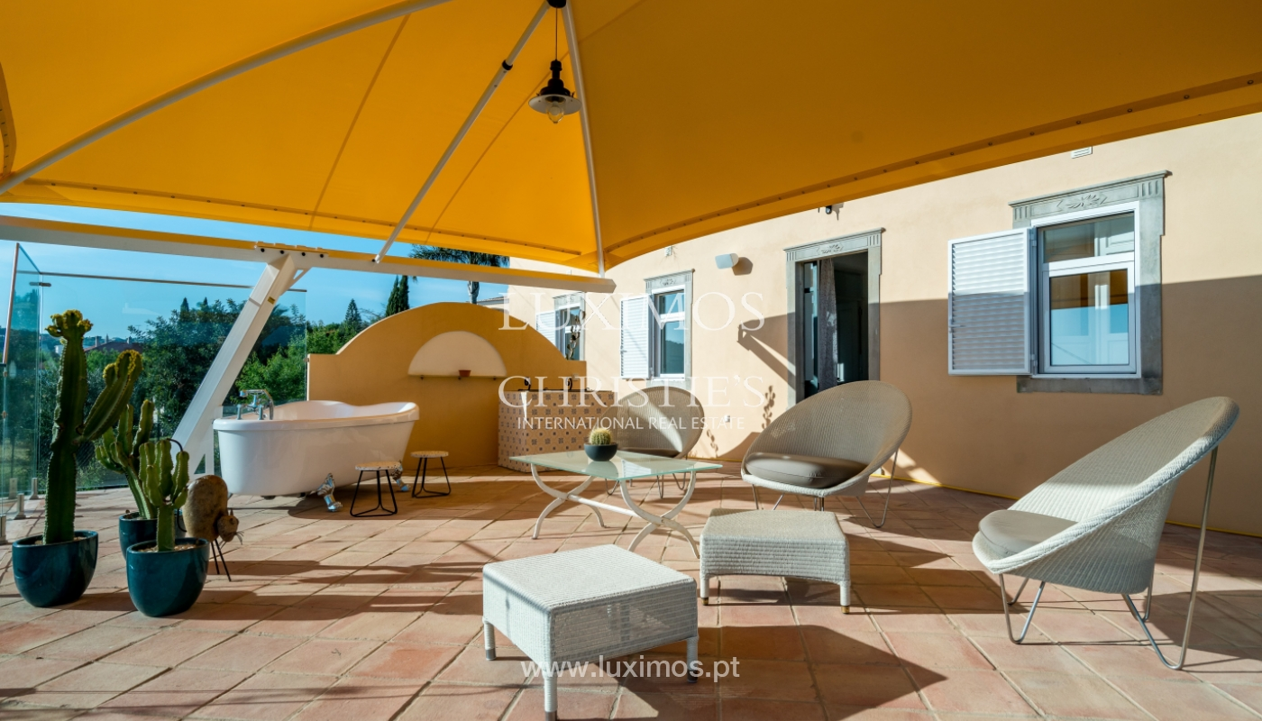 Sale of house with pool and garden in Loulé, Algarve, Portugal_136703
