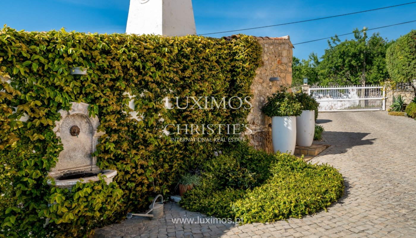 Sale of house with pool and garden in Loulé, Algarve, Portugal_136787