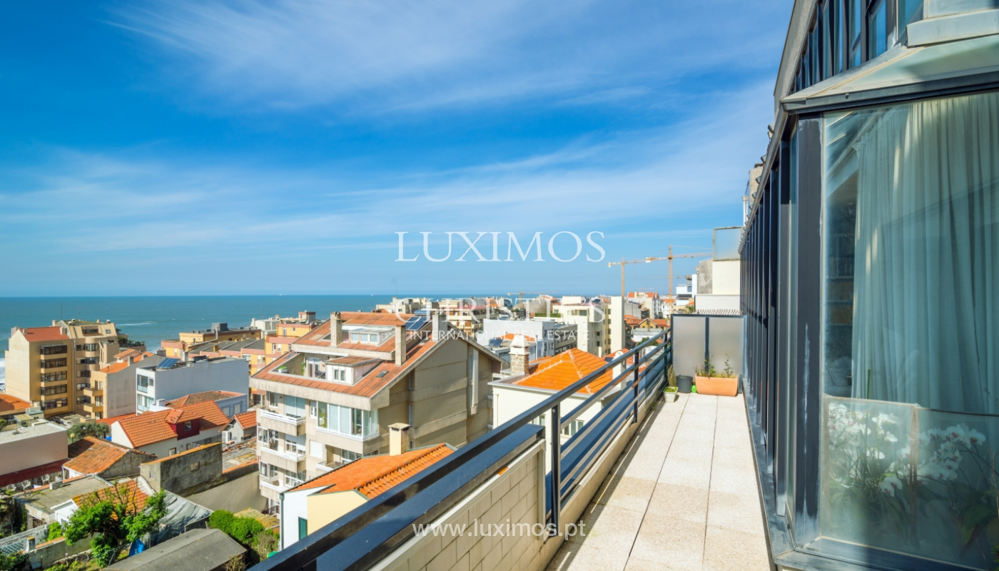 Sale of duplex apartment with balcony and sea views, in Porto, Portugal_136816