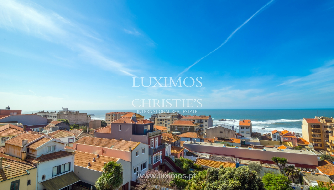 Sale of duplex apartment with balcony and sea views, in Porto, Portugal_136817